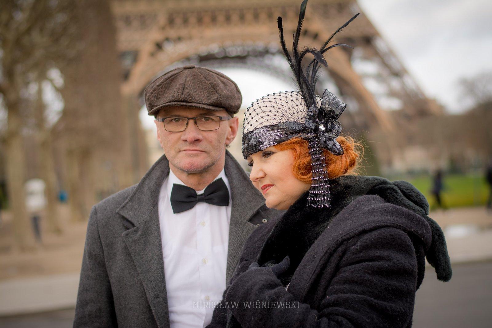 Miroslaw Wisniewski sesja plener Paryż