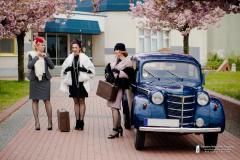 sesja plenerowa vintage , Cottbus grupa Retrohobby, Miroslaw Wisniewski