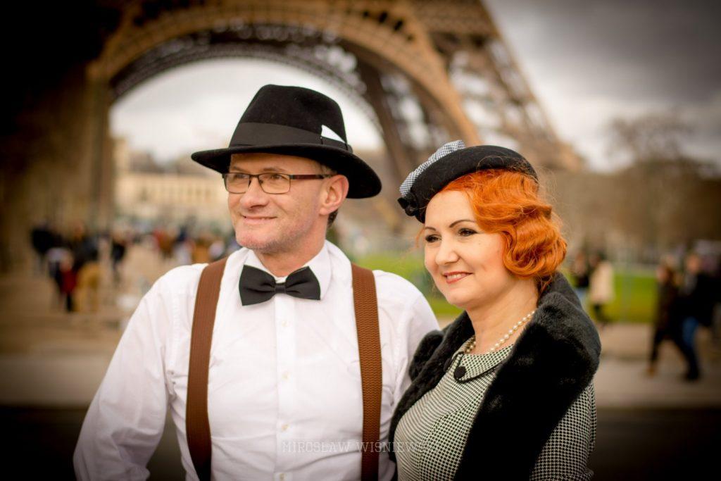 Mirosław Wiśniewski sesja plener Paryż