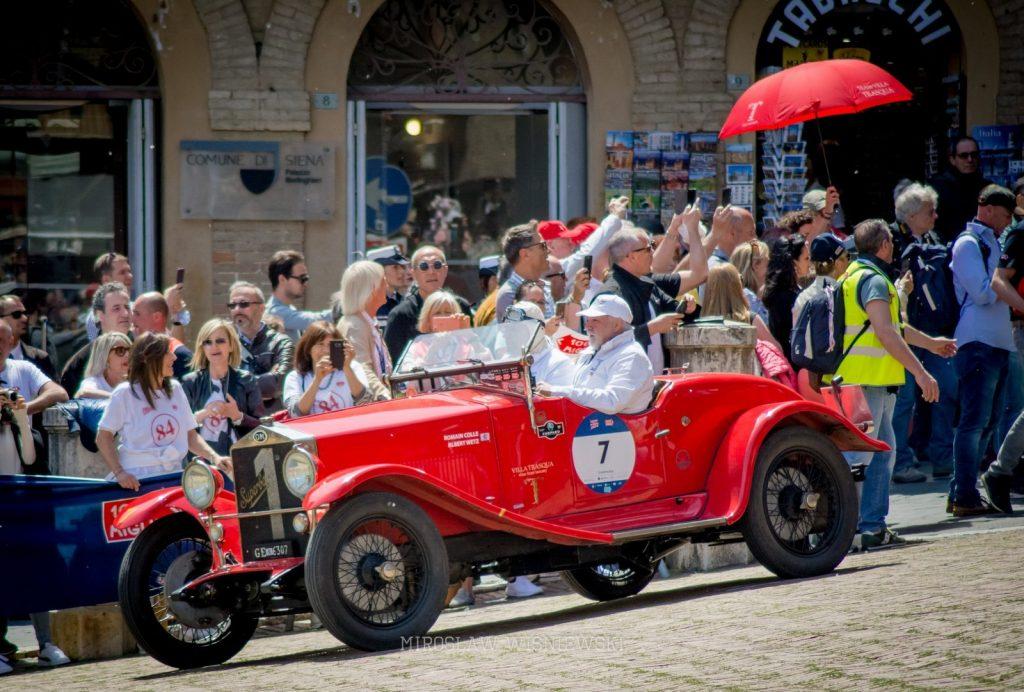 Mirosław Wiśniewski Mille Miglia 2019 Siena
