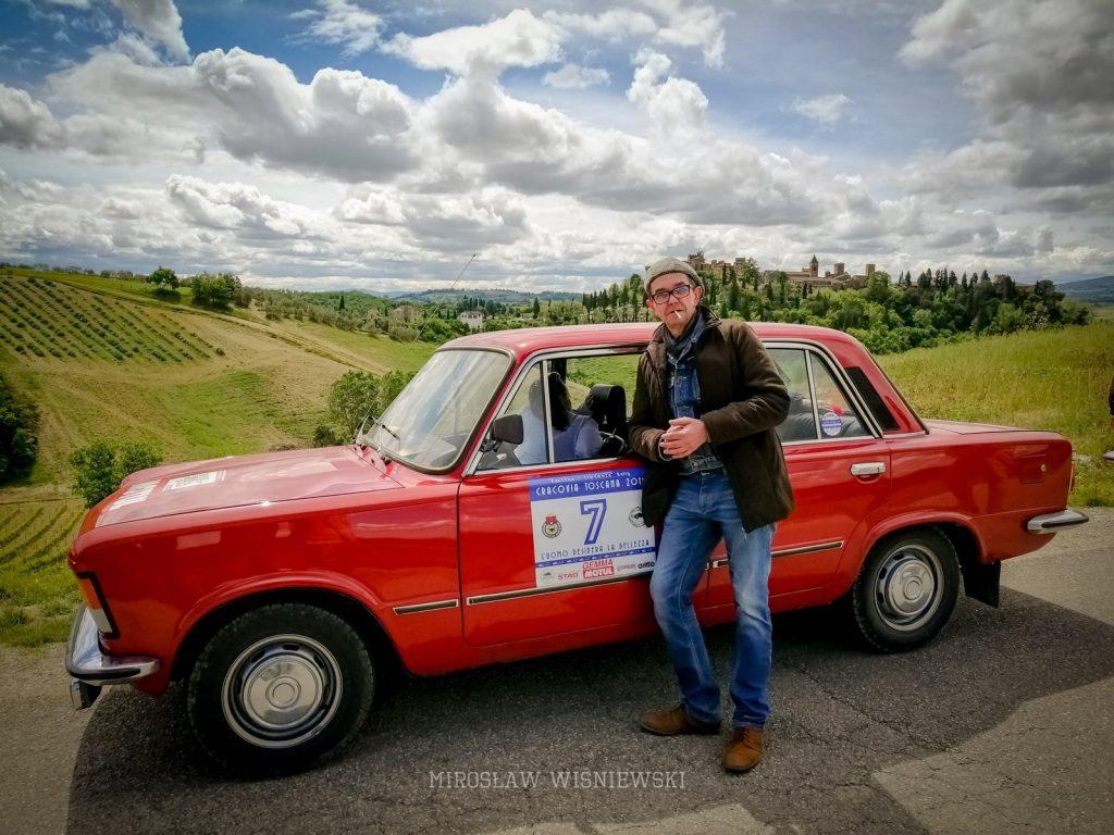 Mirosław Wiśniewski rajd do Toskanii