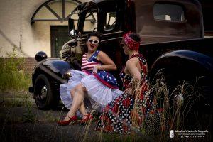 sesja plener, sesja vintage, american cars mania, Mirosław Wiśniewski Fotografia
