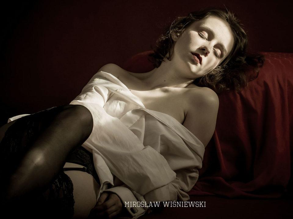 Sesja buduarowa Marlena - luty 2